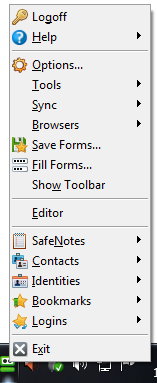 RoboForm Taskbar Icon