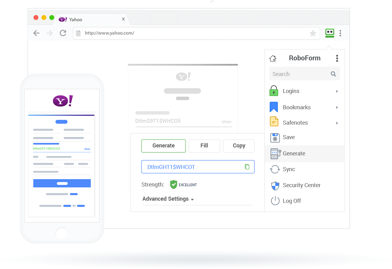RoboForm: Manage your passwords with ease and security