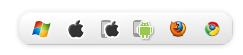 Roboform Supported Download Icons