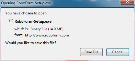 "When the File Download dialog box appears click the ""Save File"" button."