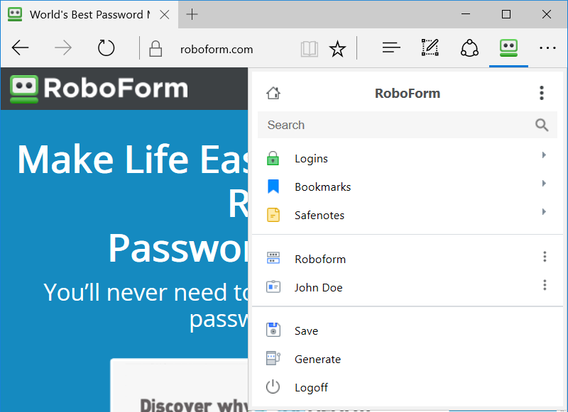 lbar for Internet Explorer (IE)
