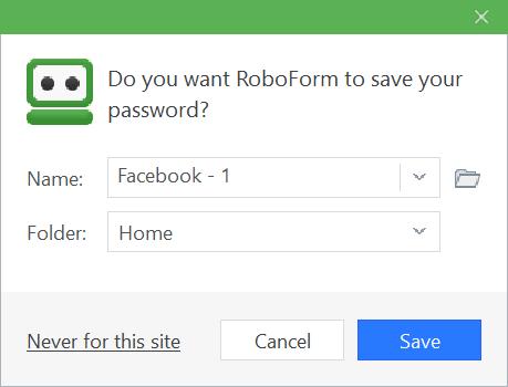 RoboForm Manual