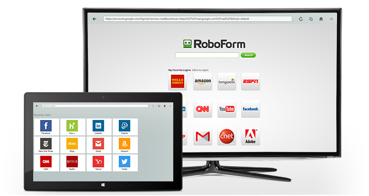 RoboForm for Windows Metro