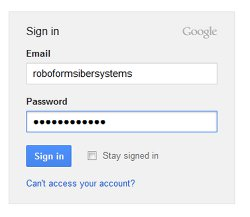 Enter your login information