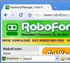 RoboForm for Chromium